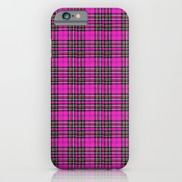 Vintage Lunchbox Design in Magenta iPhone Case