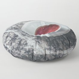 COFFEE PORTAL TO THE UNIVERSE Floor Pillow