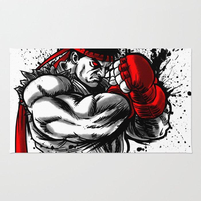 Sketch fighter Rug