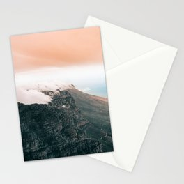 Table Mountain, South Africa Stationery Cards