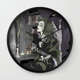 Let Your Hair Down Wall Clock