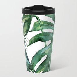 Simply Island Palm Leaves Travel Mug