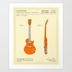 GUITAR (1955) Art Print