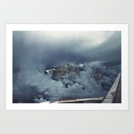 Cloud Park Art Print