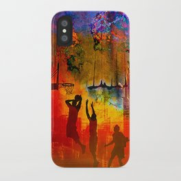 A summer in New York iPhone Case