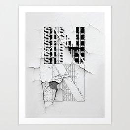 in_still Art Print