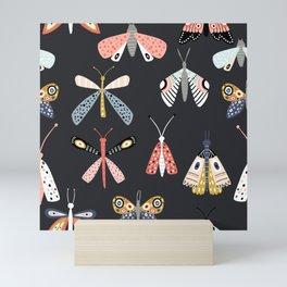 Moths and Butterflies Mini Art Print