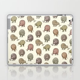 Hungry Kiwis – Cool Earth Tones Laptop & iPad Skin