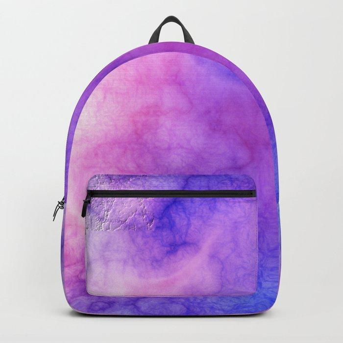 Pink Cloud Marble Backpack