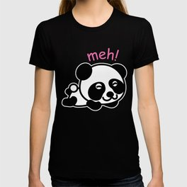 Sleepy Panda Funny Tired Bear Wildlife Sleepy Head Lazy Animals Gift T-shirt