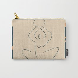 Yoga Woman Carry-All Pouch