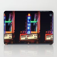 theater iPad Cases featuring Old Theater by americansummers