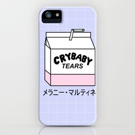 CRYBABY TEARS iPhone Case