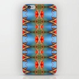 Ornamental Nature-pattern iPhone Skin
