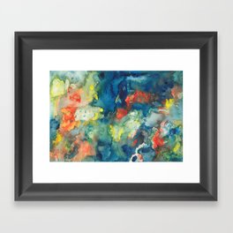 Mindscapes: Did you get hit by a bus or just have a baby? Framed Art Print