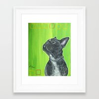 leon Framed Art Prints featuring Leon by JNiggelArt