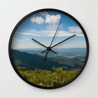 skyline Wall Clocks featuring Skyline  by Ashley Hirst Photography