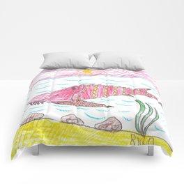 Tennessee Lake Sturgeon Comforters