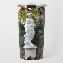 Flora Goddess of Flowers Travel Mug