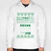 drunk Hoodies featuring DRUNK by Insait Disseny