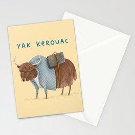 Yak Kerouac Stationery Cards
