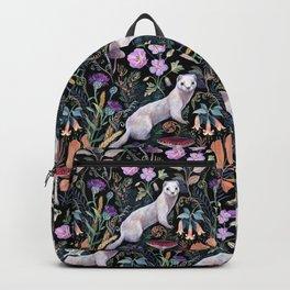 White Ermine Backpack