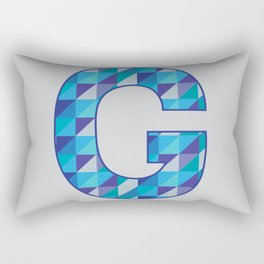 Starts with G Rectangular Pillow