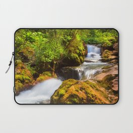 Swiss rapids. Laptop Sleeve