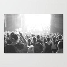 Fun Concert Canvas Print