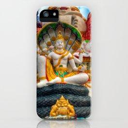 Lord Vishnu Thailand Temple iPhone Case