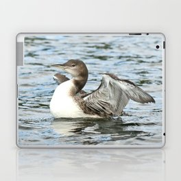 Baby loon all grown up Laptop & iPad Skin