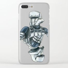 Tank driver Clear iPhone Case