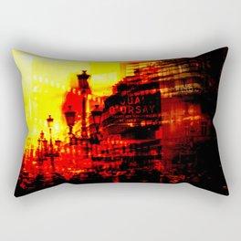 1st arrondissement-red Rectangular Pillow