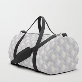 Light purple rhombuses. Duffle Bag