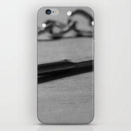 Secret key iPhone Skin