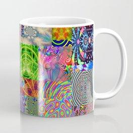 Psychedelic Montage Coffee Mug