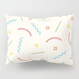 Post Modern Pattern Pastel  Pillow Sham