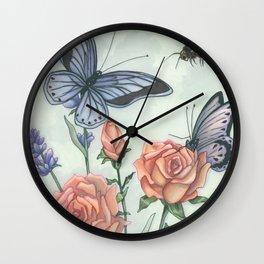 Kathie's Garden Wall Clock