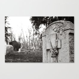 Sanatorium Hill 1 Canvas Print