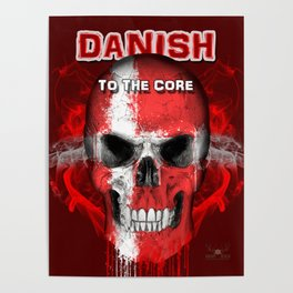 To The Core Collection: Denmark Poster