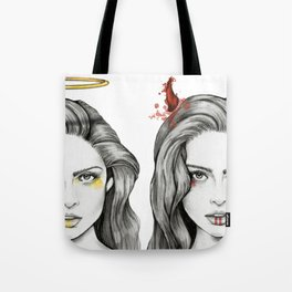 Angel Face & Hellfire Tote Bag