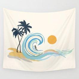 Minimalistic Summer II Wall Tapestry