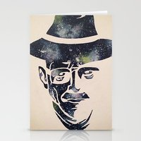 walter white Stationery Cards featuring Walter by Kayleigh Kirkpatrick