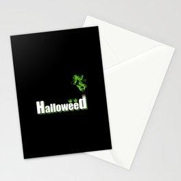 HalloWeed Stationery Cards