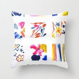 tiny patterns N.o 2 Throw Pillow