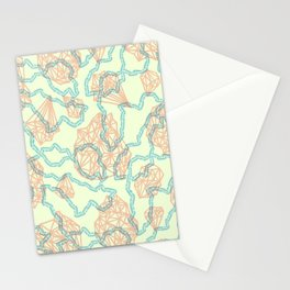 diamonds + chains Stationery Cards