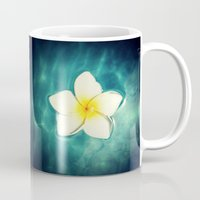 lily Mugs featuring Lily by Ken Seligson
