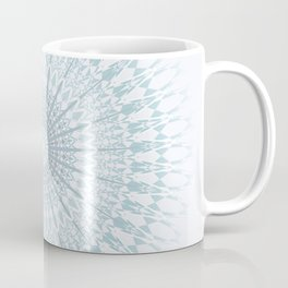 Teal Aqua Mandala Coffee Mug