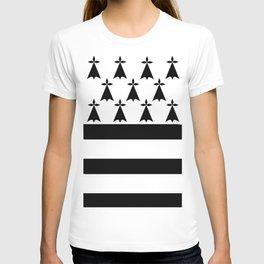 Brittany flag emblem T-shirt