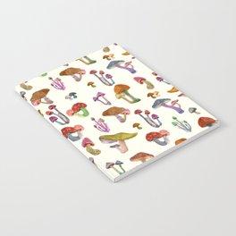 mini mushrooms Notebook